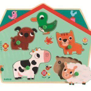 01707, Σφηνώματα ήχου Ζωάκια, παιχνίδια, παιχνίδια για παιδιά, παιχνίδια για κορίτσια, παιχνίδια για αγόρια, παιχνίδια για μωρά, εκπαιδευτικά, παιδαγωγικά, το ξύλινο αλογάκι, δώρα, δώρο, θρακομακεδόνες, djeco, βρεφικά παιχνίδια, παζλ παιχνίδια, παιχνίδια με παζλ, pazl, παζλ games