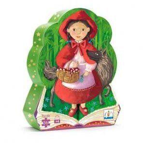 07230, Παζλ 'Κοκκινοσκουφίτσα', παιχνίδια, παιχνίδια για παιδιά, παιχνίδια για κορίτσια, παιχνίδια για αγόρια, παιχνίδια για μωρά, εκπαιδευτικά, παιδαγωγικά, το ξύλινο αλογάκι, δώρα, δώρο, θρακομακεδόνες, djeco, βρεφικά παιχνίδια, παζλ παιχνίδια, παιχνίδια με παζλ, pazl, παζλ games