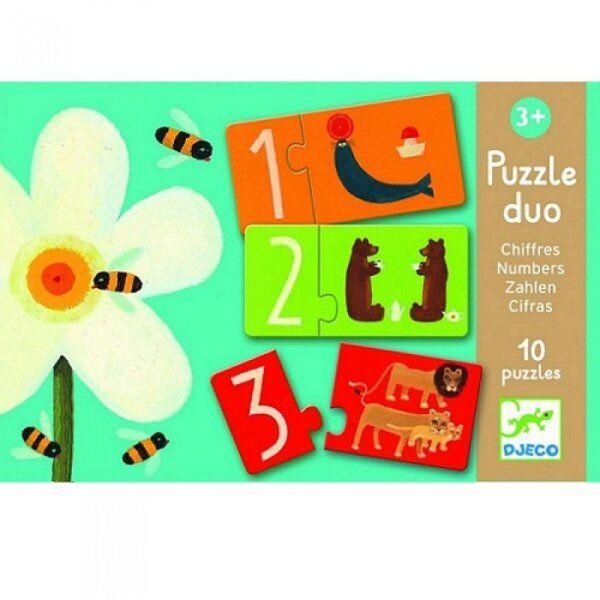 Παζλ duo 'Μαθαίνω τους αριθμούς'