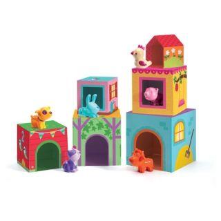 09108 Κύβοι, djeco, paidia, παιχνίδια, παιχνίδια για παιδιά, παιχνίδια για κορίτσια, παιχνίδια για αγόρια, παιχνίδια για μωρά, τουβλάκια, παιδαγωγικό παιχνίδι, κατασκευές, το ξύλινο αλογάκι, δώρα, δώρο, θρακομακεδόνες, www.toxilinoalogaki.gr