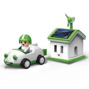 Ηλιακό Σπίτι με αυτοκίνητο