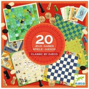 20 επιτραπέζια παιχνίδια - djeco