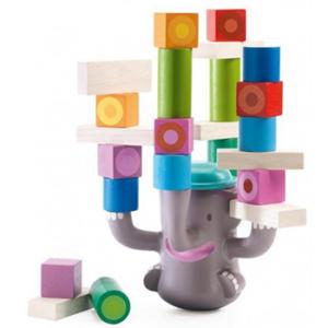 """Ξύλινα τουβλάκια ισορροπίας """"Ελέφαντας"""", djeco, djeco 06321, ξύλινα τουβλάκια, τουβλάκια, ελέφαντας, παιχνίδι ισορροπίας, παιχνίδια στοίβας, το ξύλινο αλογάκι, θρακομακεδόνες, toxilinoalogaki, δώρα, δώρο, παιδικά παιχνίδια, παιχνίδια, παιχνίδια για κορίτσια, παιχνίδια για αγόρια."""