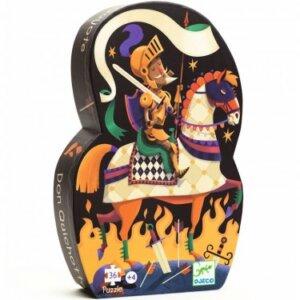 Σχηματικό παζλ , Δον Κιχώτης, Djeco, djeco 07235, το ξύλινο αλογάκι, παιδικά παζλ, παζλ για παιδιά, pazl, puzzle, puzzles, παιχνίδια με παζλ, παζλ games, παζλ για κορίτσια, παζλ για παιδιά, παιδικά παιχνίδια, δώρα, δώρο, επιτραπέζια, παιχνίδια για κορίτσια, παιχνίδια για αγόρια, Θρακομακεδόνες.