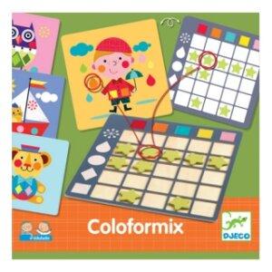 Coloformix, Coloformix εκπαιδευτικό παιχνίδι, Djeco, djeco 08355, εκμάθηση σχημάτων, εκμάθηση χρωμάτων, παιχνίδια με χρώματα, παιχνίδια με σχήματα, εκπαιδευτικά παιχνίδια, παιδαγωγικά παιχνίδια, το ξύλινο αλογάκι, παιδικά παζλ, παζλ για παιδιά, pazl, παιδικά παιχνίδια, δώρα, δώρο, επιτραπέζια, παιχνίδια για κορίτσια, παιχνίδια για αγόρια, Θρακομακεδόνες.