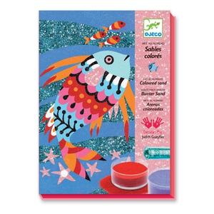 Σχεδιάζω με χρωματιστή σκόνη 'Ψαράκια', Djeco, djeco 08661, καλλιτεχνικά, ζωγραφική, παιδικές δραστηριότητες, εκπαιδευτικά παιχνίδια, παιδαγωγικά παιχνίδια, το ξύλινο αλογάκι, παιδικά παζλ, παζλ για παιδιά, pazl, παιδικά παιχνίδια, δώρα, δώρο, επιτραπέζια, παιχνίδια για κορίτσια, παιχνίδια για αγόρια, Θρακομακεδόνες.