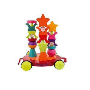 Τρεχαλίτσα - Στοίβα Moulin Roty, MR644079, Moulin Roty, τρεχαλίτσα, στοίβα, βρεφικά, βρεφικά παιχνίδια, ξύλινα παιχνίδια, παιχνίδια Moulin Roty, παιχνιδια, παιχνίδια, παιχνίδι, paixnidia, xilina paixnidia, pexnidia