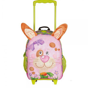"""Τσάντα - trolley προσχολική """"Rabbit"""", τσάντες - τρόλευ, τσάντες -τρόλεϋ, τσάντα κουνελάκι, Okiedog 86013, Wildpack, 3D τσάντες, 3D tsantes, σακίδιο πλάτης πολυθεσιακό, τσάντες Okiedog, tsantes Okiedog, τσάντες νηπίου, τσάντα νηπιαγωγείου, τσάντα, πολυθεσιακά σακίδια, πολυθεσιακό σακίδιο, τσάντα πλάτης, σχολική τσάντα, σακίδιο, σχολικά, sxolika, σχολικά είδη, tsanta, tsantes"""