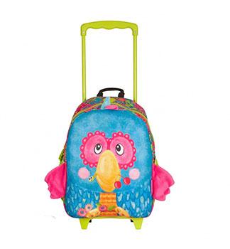 """Τσάντα – trolley προσχολική """"Parrot"""""""