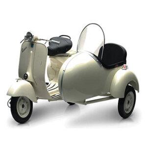 1/6 PIAGGIO VESPA (1955), 1/6 PIAGGIO VESPA 150VL1T WITH SIDE CAR, μινιατούρες, μινιατούρα