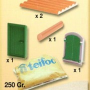 "Teifoc Κεραμικά ""Χτίζω μικρό σπιτάκι"""