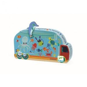 Παζλ 'Ενυδρείο', djeco, djeco 07266, pazl djeco, παζλ djeco, παιδικά παζλ, παζλ για παιδιά, pazl, puzzle, puzzles, παιχνίδια με παζλ, παζλ games, παζλ για κορίτσια, παζλ για παιδιά, παιδικά παιχνίδια, δώρα, δώρο, επιτραπέζια, παιχνίδια για κορίτσια, παιχνίδια για αγόρια