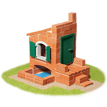 "Teifoc Χτίζοντας ""Σπίτι 2 σχέδια"""