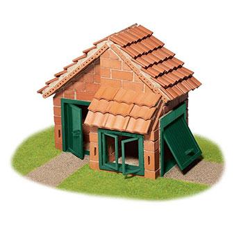 Teifoc, Κεραμικά 'Χτίζω σπίτι με γκαράζ', σετ κατασκευής, κατασκευή, κατασκευές, κατασκευες, κατασκευεσ, κατασκευη, φτιαξτο, παιδικες κατασκευες, ειδη χομπυ, kataskeues