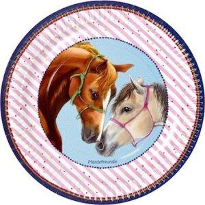 Σετ χάρτινα πιατάκια για πάρτυ Άλογο (8 τμχ), 12961