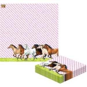 Χαρτοπετσέτες Άλογο (20 τμχ),13040