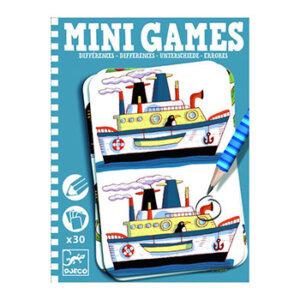"Djeco Μίνι σπαζοκεφαλιές 30 καρτών ""Βρες τις διαφορές"", djeco, djeco 05306, σπαζοκεφαλιές, επιτραπέζια παιχνίδια, επιτραπεζια, επιτραπεζια παιχνιδια, εκπαιδευτικά παιχνίδια, παιδαγωγικά παιχνίδια, παιδικά παιχνίδια, δώρα, δώρο, επιτραπέζια, παιχνίδια για κορίτσια, παιχνίδια για αγόρια"