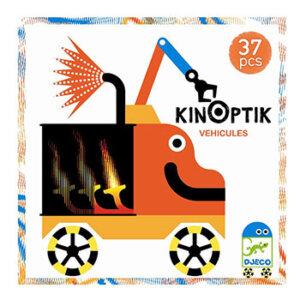 a1d21498252b Djeco Kinoptik παζλ με μαγνήτες και εφέ κίνησης εικόνας οχήματα (38 τμχ)