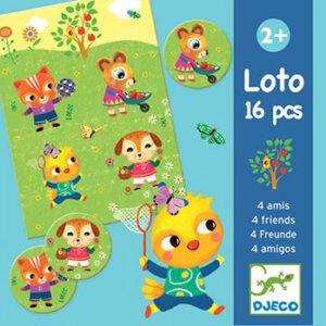 "Djeco Λόττο ""Οι 4 φίλοι"", lotto, λόττο, εκπαιδευτικά παιχνίδια, παιδαγωγικά, εκπαιδευτικά, παιδαγωγικά παιχνίδια, djeco, djeco 08124, παιχνιδια, πεχνιδια, paixnidia gia koritsia, παιχνιδια για αγορια, paixnidia gia agoria, παιχνιδια για παιδια, παιδικα παιχνιδια"