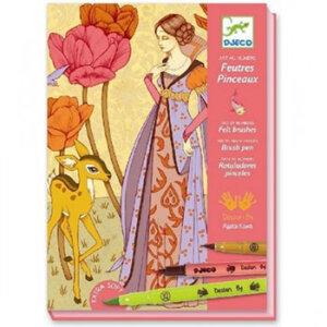 """Djeco Ζωγραφική με μαρκαδόρους """"Ρομαντική Πριγκίπισσα"""", χειροτεχνίες, χειροτεχνίες για παιδιά, καλλιτεχνικά, εκπαιδευτικά παιχνίδια, ζωγραφική, ζωγραφιές, παιδαγωγικά, εκπαιδευτικά, παιδαγωγικά παιχνίδια, djeco, djeco 08643, καλλιτεχνικά, παιχνιδια, πεχνιδια, paixnidia gia koritsia, παιχνιδια για αγορια, paixnidia gia agoria, παιχνιδια για παιδια, παιδικα παιχνιδια"""