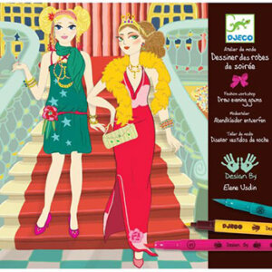 Djeco Σχεδιάζοντας απογευματινά φορέματα, χειροτεχνίες, χειροτεχνίες για παιδιά, καλλιτεχνικά, εκπαιδευτικά παιχνίδια, ζωγραφική, ζωγραφιές, παιδαγωγικά, εκπαιδευτικά, παιδαγωγικά παιχνίδια, djeco, djeco 08732, καλλιτεχνικά, παιχνιδια, πεχνιδια, paixnidia gia koritsia, παιχνιδια για αγορια, paixnidia gia agoria, παιχνιδια για παιδια, παιδικα παιχνιδια