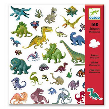 "Djeco Σετ 160 στίκερς ""Δεινόσαυροι"", χειροτεχνίες, χειροτεχνίες για παιδιά, κατασκευές, αυτοκόλλητα, αυτολλητα, ζωάκια, αυτοκόλλητα με δεινόσαυρους, καλλιτεχνικά, εκπαιδευτικά παιχνίδια, djeco, djeco 08843, καλλιτεχνικά, παιχνιδια, πεχνιδια, paixnidia gia koritsia, παιχνιδια για αγορια, paixnidia gia agoria, παιχνιδια για παιδια, παιδικα παιχνιδια"