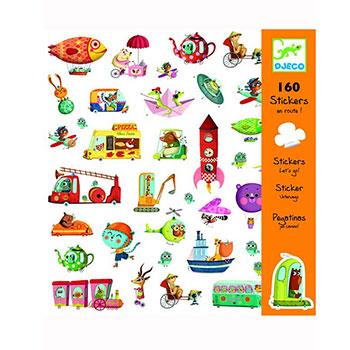 """Djeco Σετ 160 στίκερς """"Οχήματα"""", χειροτεχνίες, χειροτεχνίες για παιδιά, κατασκευές, αυτοκόλλητα, αυτολλητα, οχήματα, αυτοκίνητα, αυτοκόλλητα με αυτοκίνητα, καλλιτεχνικά, εκπαιδευτικά παιχνίδια, djeco, djeco 08844, καλλιτεχνικά, παιχνιδια, πεχνιδια, paixnidia gia koritsia, παιχνιδια για αγορια, paixnidia gia agoria, παιχνιδια για παιδια, παιδικα παιχνιδια"""