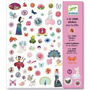 Djeco 1000 στίκερ για κορίτσια, χειροτεχνίες, χειροτεχνίες για παιδιά, κατασκευές, αυτοκόλλητα, αυτολλητα, πριγκίπισσες, πριγκίπισσα, αυτοκόλλητα με πριγκίπισσες, καλλιτεχνικά, εκπαιδευτικά παιχνίδια, djeco, djeco 08951, καλλιτεχνικά, παιχνιδια, πεχνιδια, paixnidia gia koritsia, παιχνιδια για αγορια, paixnidia gia agoria, παιχνιδια για παιδια, παιδικα παιχνιδια