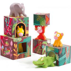 Djeco Κύβοι με ζωάκια ισορροπίας 'Ζούγκλα', kyvos, Κύβοι με ζωάκια ισορροπίας, Κύβοι με ζωάκια, ζωάκια, εκπαιδευτικα παιχνιδια για παιδια, παιχνίδια, παιχνιδια, pexnidia, paixnidia, παιχνίδια για παιδιά, παιδικά παιχνίδια, παιχνίδια για μωρά, βρεφικά παιχνίδια, djeco, djeco 09101