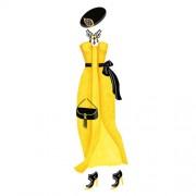 Djeco 'Ντύνω με αυτοκόλλητα γυναίκες με φορέματα'