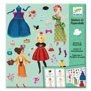 Djeco 'Ντύνω με αυτοκόλλητα γυναίκες με φορέματα', χειροτεχνίες, χειροτεχνίες για παιδιά, κατασκευές, καλλιτεχνικά, εκπαιδευτικά παιχνίδια, ζωγραφική, ζωγραφιές, παιδαγωγικά, εκπαιδευτικά, παιδαγωγικά παιχνίδια, djeco, djeco 08985, καλλιτεχνικά, παιχνιδια, πεχνιδια, paixnidia gia koritsia, παιχνιδια για αγορια, paixnidia gia agoria, παιχνιδια για παιδια, παιδικα παιχνιδια