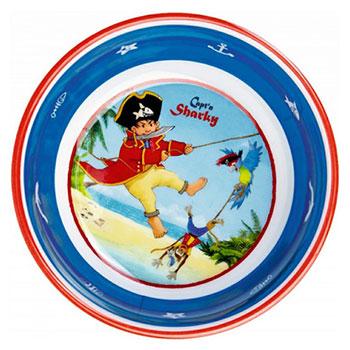Μπολ Sharky, μπολ, παιδικό μπολ, παιδικά μπολ, μπολ για αγόρια, σετ φαγητού, μπολ σαλάτας, μπολ για δημητριακά, spiegelburg, spiegelburg 12788