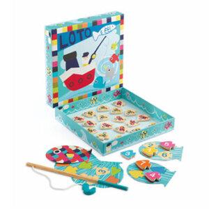 Djeco Λόττο με ψαρέματα, djeco, djeco 01688, εκπαιδευτικά παιχνίδια, παιδαγωγικά παιχνίδια, ψαράκια, παιδικά παιχνίδια, δώρα, δώρο, επιτραπέζια, παιχνίδια για κορίτσια, παιχνίδια για αγόρια