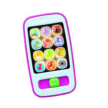 Fisher Price Εκπαιδευτικό Smart Phone Ροζ