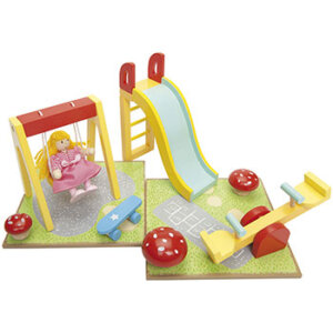 Παιδική χαρά της Le Toy Van, παιδικα παιχνιδια, εκπαιδευτικα παιχνιδια, παιχνιδια με σπιτια, κατασκευεσ για παιδια, κουκλοσπιτο, κουκλοσπιτα, κουκλόσπιτο, κουκλόσπιτα, ME076, le toy van, παιχνίδια le toy van