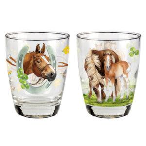 Ποτήρια Άλογο, 11165, σετ ποτηρι αλογο, set pothri aloga, spiegelburg, horse friends, pothri, pothria, potiri, potiria