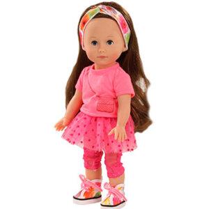 Κούκλα Chloe Gotz (Just like me) 27 cm, Κούκλα Gotz, Just like me, Chloe, κουκλα, παιχνιδια με μωρα, παιχνιδια για μωρα, κουκλεσ, μωρο, παιχνιδια για κοριτσια με μωρα, mvrakia, κουκλα μου, παιδικα παιχνιδια, εκπαιδευτικα παιχνιδια, Gotz, Gotz 1513014