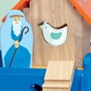 Κιβωτός (μπλε) με ζωάκια της Le Toy Van