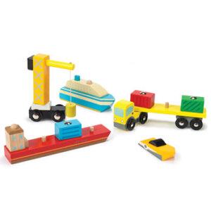Σετ οχήματα λιμανιού Le Toy Van, ξύλινα παιχνίδια, παιχνίδια, παιχνιδια, παιχνίδια για αγόρια. αυτοκινητάκια, παιχνίδια με αυτοκίνητα, παιχνίδια με αυτοκινητάκια, δώρα, δώρο, δώρα για αγόρια, δώρα για παιδιά, οικολογικά παιχνίδια, φορτηγά, tv381, le toy van, παιχνίδια le toy van