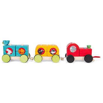 Τρενάκι στοίβαξης Petilou της Le Toy Van, τρένο, τρενάκι, στοίβα, τουβλάκια, ζωάκια, σετ ζωάκια, ξύλινα παιχνίδια, παιχνίδια ισορροπίας, παιχνίδι ισορροπίας, βρεφικά, βρεφικά παιχνίδια, παιχνίδια, παιχνιδια, παιχνίδια με ζωάκια, παιχνίδια με ζώα, δώρα, δώρο, δώρα για παιδιά, δώρα για παιδιά, οικολογικά παιχνίδια, PL088, le toy van, Petilou, παιχνίδια le toy van