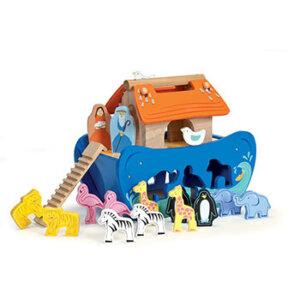 Κιβωτός (μπλε) με ζωάκια της Le Toy Van, ζωάκια, σετ ζωάκια, ξύλινα παιχνίδια, παιχνίδια, παιχνιδια, παιχνίδια με ζωάκια, παιχνίδια με ζώα, κιβωτός, κιβωτός νώε, δώρα, δώρο, δώρα για παιδιά, δώρα για παιδιά, οικολογικά παιχνίδια, tv212, le toy van, παιχνίδια le toy van
