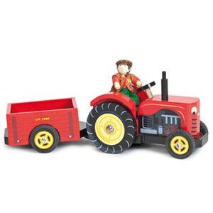 Κόκκινο τρακτέρ της Le Toy Van, τρακτέρ, τρακτέρ παιχνίδι, ξύλινα παιχνίδια, παιχνίδια, παιχνιδια, παιχνίδια για αγόρια. αυτοκινητάκια, παιχνίδια με αυτοκίνητα, παιχνίδια με αυτοκινητάκια, δώρα, δώρο, δώρα για αγόρια, δώρα για παιδιά, οικολογικά παιχνίδια, ξύλινη πυροσβεστική, tv468, le toy van, παιχνίδια le toy van