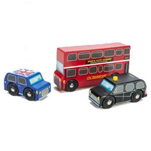 Ξύλινες ρεπλίκες οχημάτων Λονδίνου της Le Toy Van, ξύλινα παιχνίδια, παιχνίδια, παιχνιδια, παιχνίδια για αγόρια. αυτοκινητάκια, παιχνίδια με αυτοκίνητα, παιχνίδια με αυτοκινητάκια, δώρα, δώρο, δώρα για αγόρια, δώρα για παιδιά, οικολογικά παιχνίδια, ξύλινη πυροσβεστική, tv462, le toy van, παιχνίδια le toy van