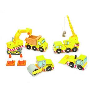 Ξύλινο σετ οχήματα οδοποιίας Le Toy Van, ξύλινα παιχνίδια, παιχνίδια, παιχνιδια, παιχνίδια για αγόρια. αυτοκινητάκια, παιχνίδια με αυτοκίνητα, παιχνίδια με αυτοκινητάκια, δώρα, δώρο, δώρα για αγόρια, δώρα για παιδιά, οικολογικά παιχνίδια, tv442, le toy van, παιχνίδια le toy van