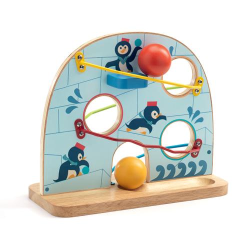 Djeco Τόμπογκαν μπίλιας πιγκουινος