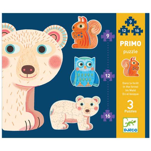 Djeco 3 πάζλ 'το δάσος', dj, 07143,puzzle djeco, djeco pazl, djeco παζλ, παζλ για παιδια, παζλ για μωρα, τα πρωτα παζλ, puzzle gia mwra, puzzle gia paidia, ta prwta puzzle, djeco paidika pazl, djeco paidika puzzle, djeco παιδικα παζλ