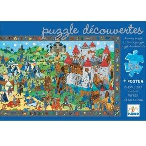 Djeco Πάζλ 'Οι ιππότες', dj 07559,puzzle djeco, djeco pazl, djeco παζλ, παζλ για παιδια, παζλ για μωρα, τα πρωτα παζλ, puzzle gia mwra, puzzle gia paidia, ta prwta puzzle, djeco paidika pazl, djeco paidika puzzle, djeco παιδικα παζλ