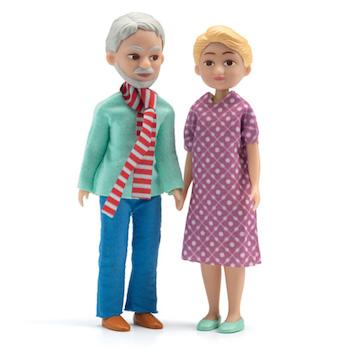 "Djeco Σετ κουκλόσπιτου ""γιαγιά και παππούς"""
