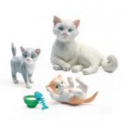 Djeco Σετ κουκλόσπιτου 'Γάτες'