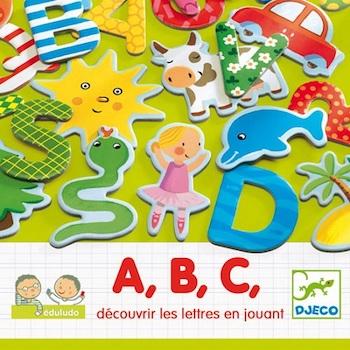 Djeco Eduludo με Λατινικά Γράμματα